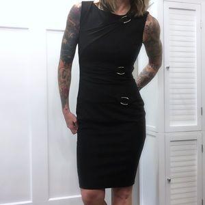 Caché Black Pencil Dress